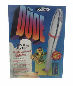 Estes The Dude Giant 7ft giant flying Rocket. New In Box Awesome!!