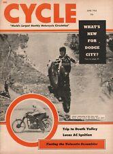 1955 June Cycle - Vintage Motorcycle Magazine
