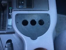 97-01 Jeep Cherokee XJ Ash Tray Switch Panel Fits 3 Switches