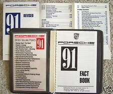 PORSCHE OFFICIAL 944 911 928 GT TURBO FACT BOOK SALES BROCHURE 1991 USA EDITION