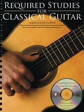 Required Studies for Classical Guitar Sheet Music Book and CD NEW 014027142