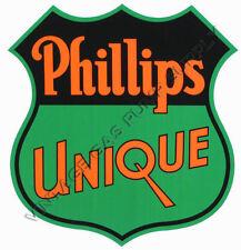 """Phillips Unique 9.75""""x9.25"""" Vinyl Decal (DC188)"""