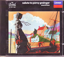 Salute To Percy Grainger CD on London original Made In West Germany