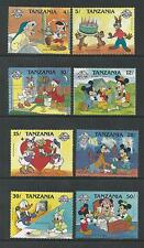 TANZANIA # 424-431 MNH DISNEY,  SPECIAL OCCASIONS