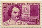 "FRANCE N°463 ""AU PROFIT DES CHOMEURS INTELLECTUELS, 1 F +10C""NEUF xxTTB"