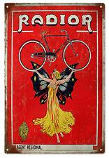 Radior Bicycle Nostalgic Sign Garage Art