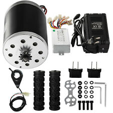 500W 24V DC Electric Motor Controller Handles Charger Minibike Charger Handles