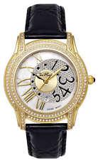 Joe Rodeo Women's JBLY5 Beverly 1.35ct Diamond Leather Strap Quartz Watch