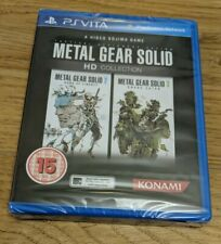 Metal Gear Solid HD Collection Game KONAMI Sony PlayStation PS Vita New & Sealed
