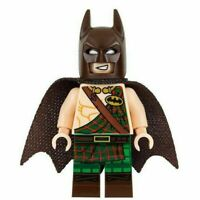 LEGO Tartan Batman Minifigure Rare Exclusive DC Super Heroes Genuine Minifig New