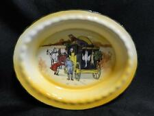 "Royal Doulton Coaching Days, Coach w/ Hanging Animals: Nut Dish, 5 5/8"", 14c"