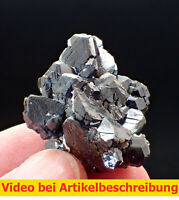 7421 Sphalerite Twin? pseudohexagonal (Wurtzit?)  3*2*3 cm Huanggang China MOVIE