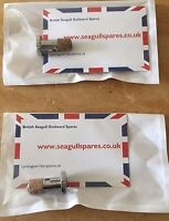 British Seagull Outboard  Engine Fuel Tap Plunger (x2) New Free Shipping (uk)