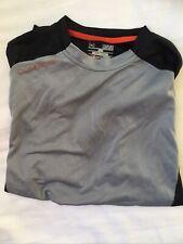 Men's Under Armour Heat Gear Loose T-Shirt Ss Black Medium M