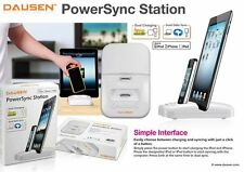 DUAL dausen Powersync Duo supporto di ricarica per Apple iPhone 4, 4s, iPad, caricabatterie