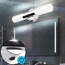 Luxus Wand Leuchte Bad Beleuchtung Spiegel Strahler Chrom Lampe schaltbar weiß