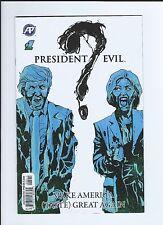 President Evil 1 ZOMBIE DONALD Trump Hillary Clinton  --- KEY RARE Comic book