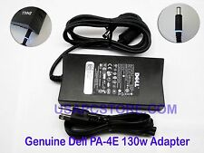 genuine oem dell latitude pa-4e ac power adapter charger 130w pr03x pr02x