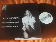 KYLIE MINIGUE + K WASHINGTON, MAXI, MADE IN SPAIN , IF YOU WERE WITH ME NOW