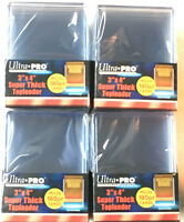 (40) Ultra Pro Thick 180pt Toploaders Super thick Topload Card Holders 3x4 MLB