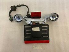 Harley-Davidson Bullet Turn Signal & Tail Light Bar With License Plate Mount