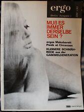 Zeitschrift ergo Berlin 5/1967 Plümpe H.K.v Schönfels Gabriele Scheppan R. Lutz