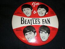 "The Beatles Offical Fan BADGE 4"""