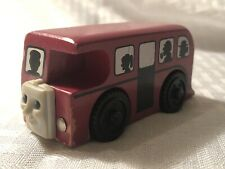Thomas & Friends Wooden Railway Train Bertie The Bus Learning Curve - 1