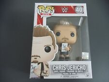 FUNKO POP WWE CHRIS JERICHO EXCLUSIVE WITH PURPLE RING GEAR