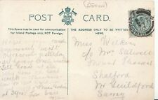 Family History Postcard - Wilkins - Shalford - Guildford - Surrey - Ref 1403A