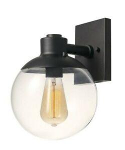Globe Electric Portland 1-Light Dark Bronze Sconce 65851