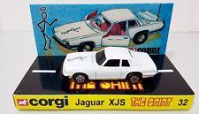CORGI Juniors 32 THE SAINT Jaguar XJ-S Diecast Model Car & Custom Display [d]