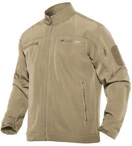 Waterproof Men's Expedition Jacket Army Tactical Fleece Jackets Hiking Coats