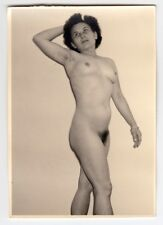 Mature wife posing nude for husband/nudo * VINTAGE 1950s amatoriale Photo #2