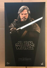 Hot Toys Star Wars: The Last Jedi Luke Skywalker Deluxe MMS458 New US Seller