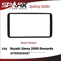 SP Double DIN Facia Kit Fascia Dash Plate Panel For Suzuki Jimny 2005+