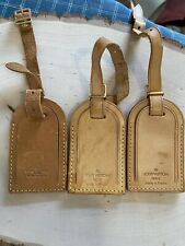 Louis Vuitton Luggage Name id Tag Lot