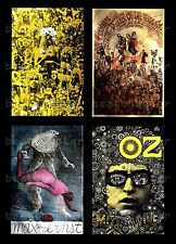 MARTIN SHARP Psychedelic Postcard Bob Dylan Oz 7 Magazine Plant A Flower Child 5