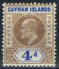 Mint Hinged Single Cayman Islands Stamps