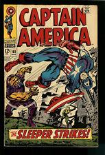 Captain America #102  -  Marvel Comics Silver Age  - Fine