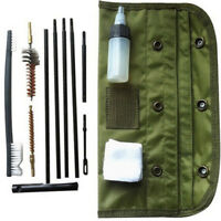 10PCS/Set Cleaning Kit Rod Nylon Brush Tool Set For .22 22LR .223 556 Rifle Gun