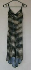 Rampage Sequined Dress Women's Size S Small Black Sleeveless Fitted
