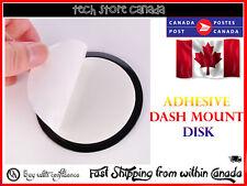 "GPS Adhesive Dash Mount Disk Pad 3.5"" in dashboard Garmin Nuvi"