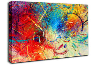 Whirlwind 2 Abstract 19257 Canvas Print Wall Art