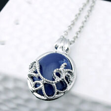Hot Film The Vampire Diaries Katherine Anti-sunlight Blue Stone Pendant Necklace