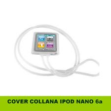 Custodia Collana TPU per Apple iPod Nano 6a Generazione TRASPARENTE