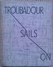 Troubadour Sails On by B J Klitgaard (Seeley Service, 1938) Sailing, Waterways