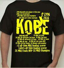 Exclusive Kobe Career Achievements T-shirt
