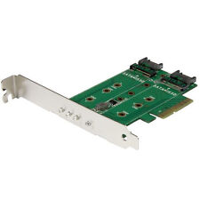 StarTech PEXM2SAT32N1 3-port M.2 NGFF SSD Adapter Card to PCI Express 3pt