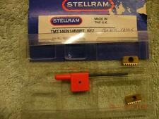 x2 STELLRAM THREAD MILLING CARBIDE INSERTS TMT 14EN 14BSPT SFZ + TORX NEW
